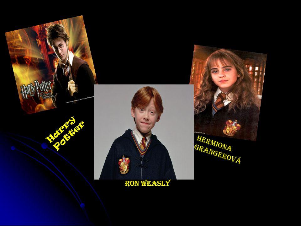 Harry Potter Hermiona Grangerová Ron Weasly