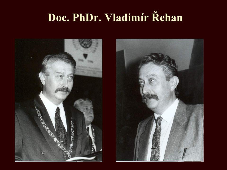 Doc. PhDr. Vladimír Řehan