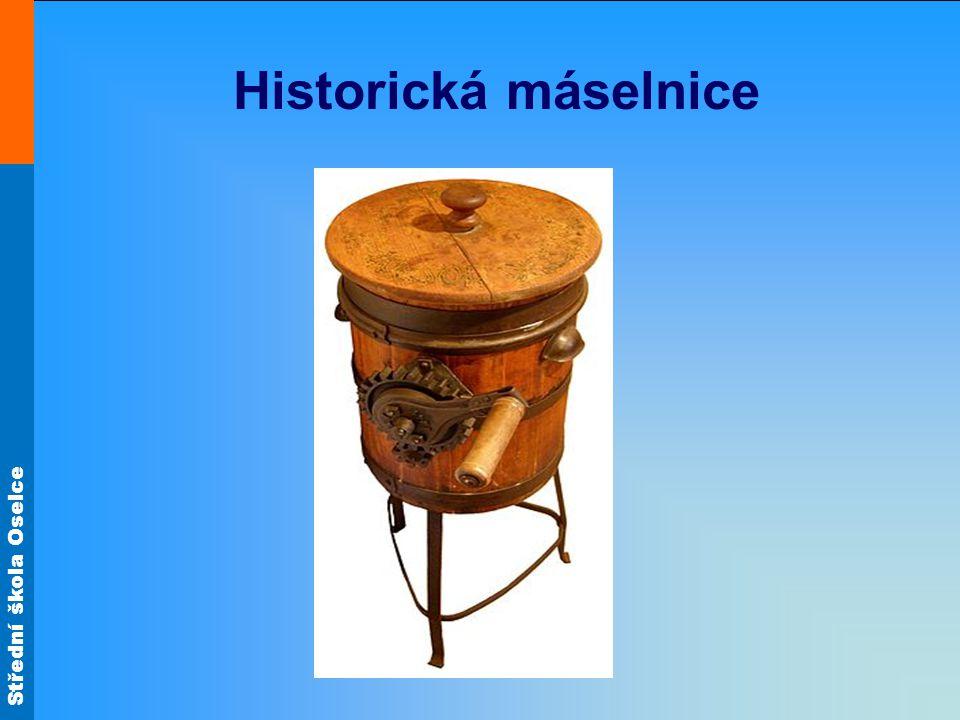 Střední škola Oselce Historická máselnice