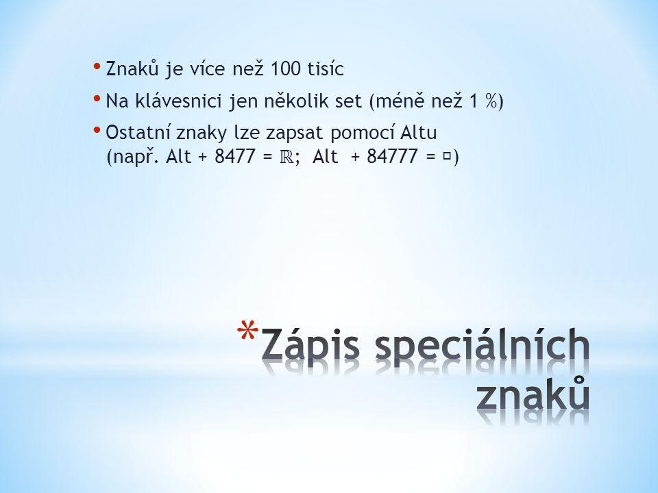 * Čas se v češtině správně zapisuje s tečkou mezi hodinami a minutami * (např.