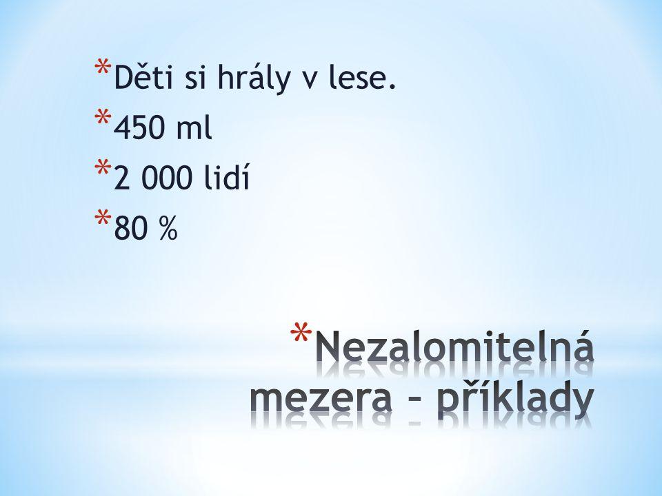 * 8% = 8procentní roztok * 12° = 12stupňové pivo * 5m = 5metrový skok * 6V = 6voltová baterie * 20× = 20krát * x-procentní * n-tá odmocnina