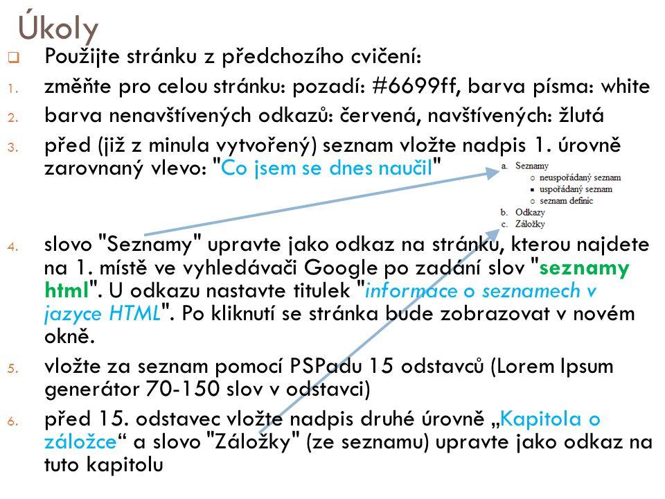 """Řešení / fotky dokument index.html brno.jpg skoleni.doc Odkaz v souboru """"index.html absolutní absolutní http://www.fd.cvut.cz/fotky/brno.jpg relativní relativní../../fotky/brno.jpg částečně absolutní částečně absolutní /fotky/brno.jpg http://www.fd.cvut.cz fd  Jak vypadá absolutní/relativní/částečně absolutní adresa v souboru index.html odkazující na soubor brno.jpg?"""
