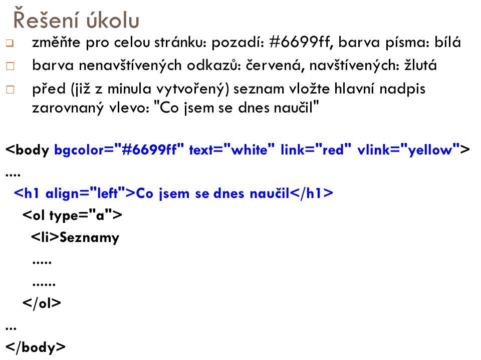 URL pravidla  Nepoužívat češtinu a speciální znaky  Používejte spíše malá písmena  Problém file systému serverů