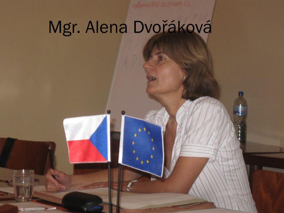 Mgr. Alena Dvořáková