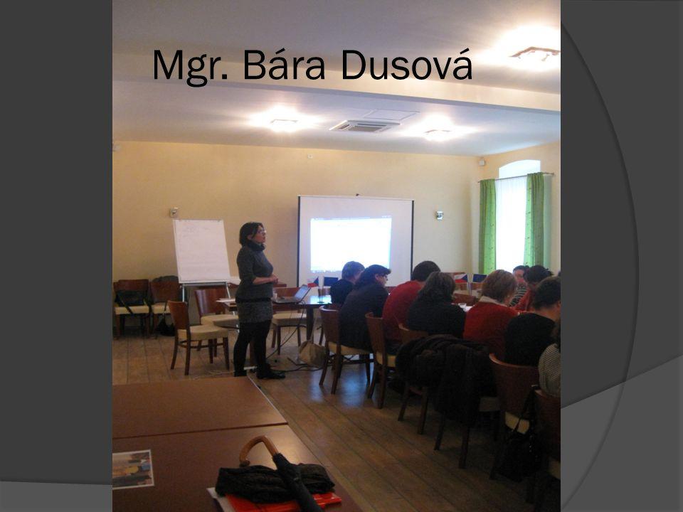 Mgr. Bára Dusová