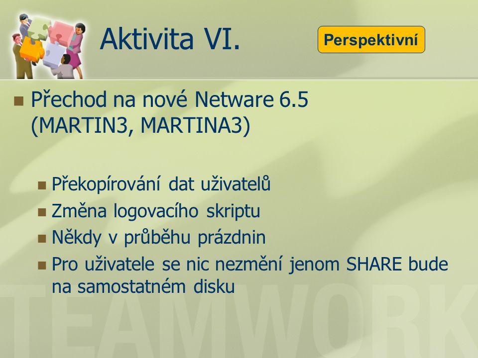 Aktivita VI.