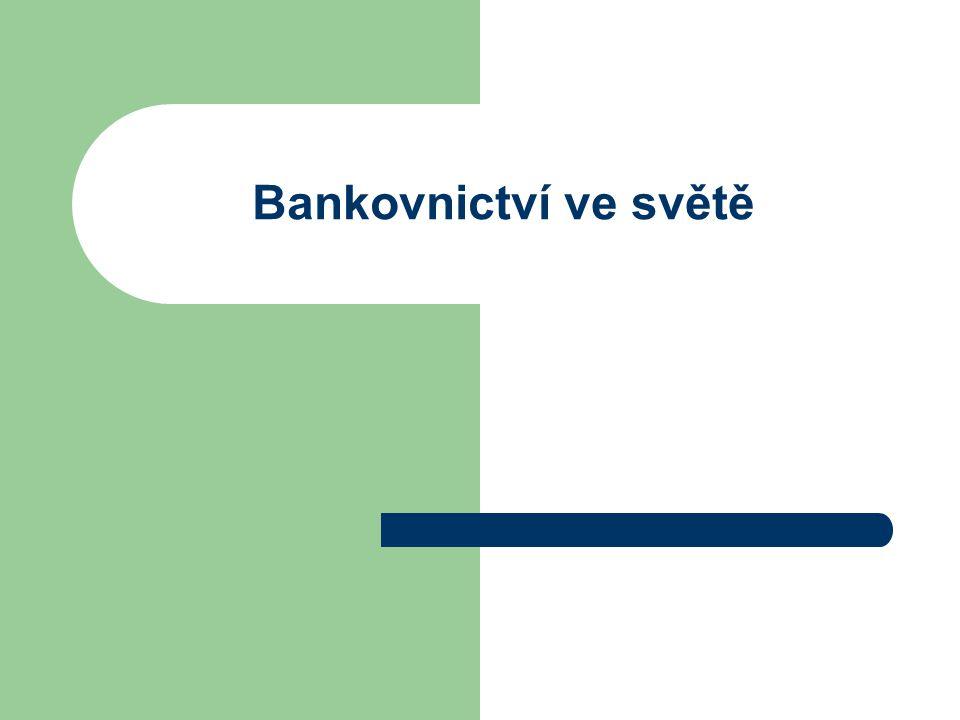 Bankovnictví ve světě