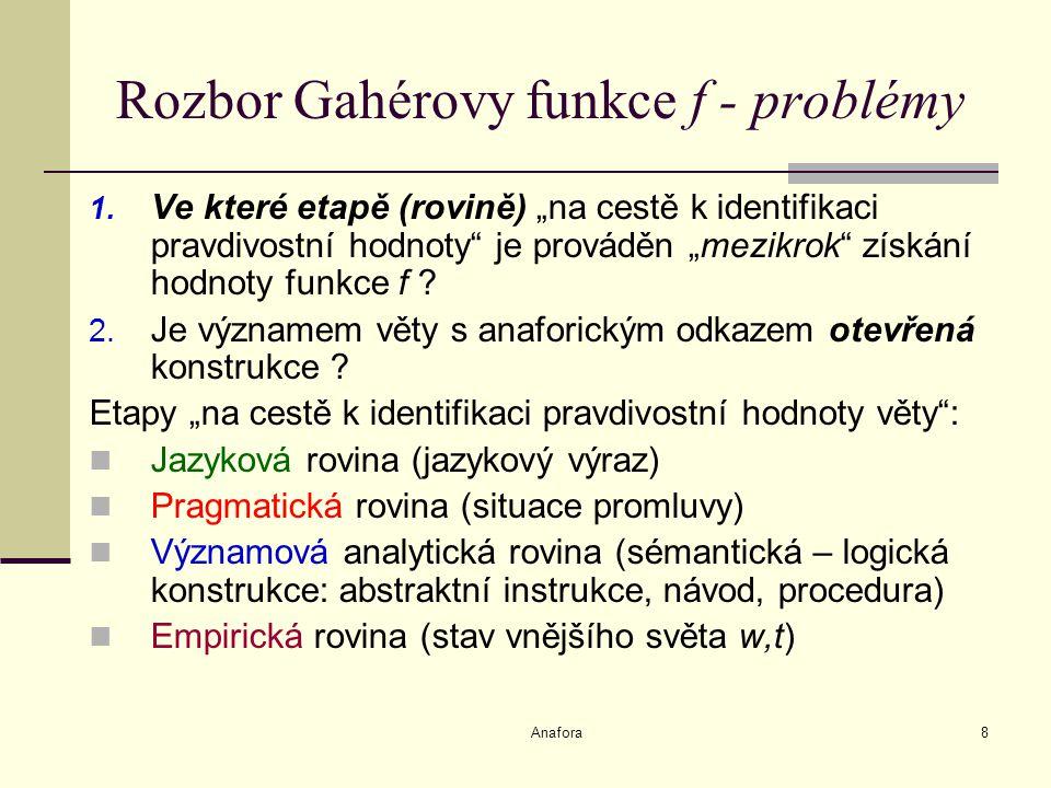 Anafora8 Rozbor Gahérovy funkce f - problémy 1.