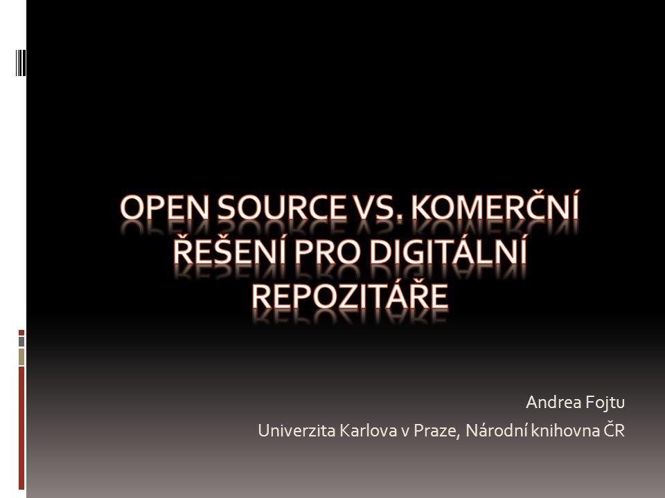 Andrea Fojtu Univerzita Karlova v Praze, Národní knihovna ČR