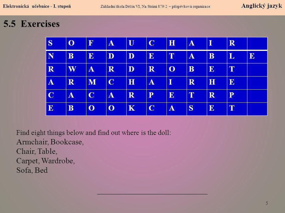 5.6 Something more difficult 6 Elektronická učebnice - I.