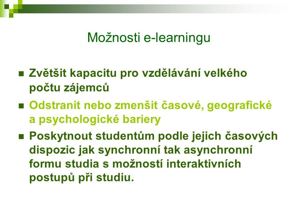 Úvod do elektronického vzdělávání Definice pojmu e-learning e-learning electronic (z angl. = elektronické) learning (z angl. = učení se) Definice: E-l