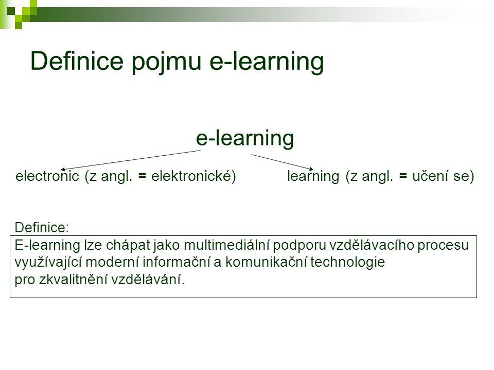 Vzdělávací proces a současnost nové aspekty  odlišnost od tradičních metod  jako hlavní fenomém současnosti (budoucnosti) se jeví distanční forma vzdělávání (DiV) reakce na měnící se potřeby a požadavky studujících v návaznosti na potřeby a požadavky společnosti  vzrůstající důležitost a možnosti využití ICT a Internetu nové období DiV  e-learning  nová specifika studijních opor, nové nároky na všechny účastníky vzdělávacího procesu