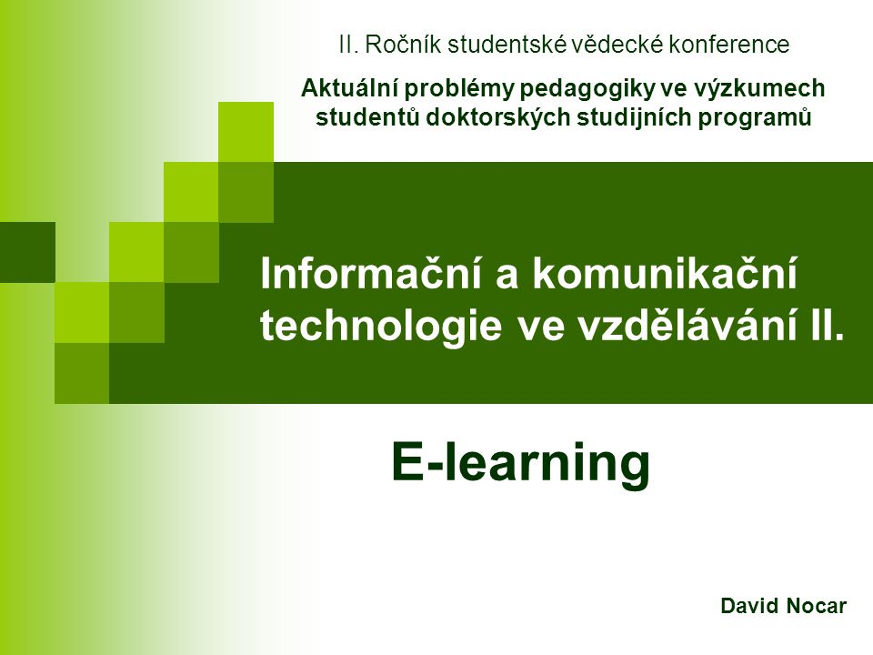 Příklady LMS EDEN eDoceo iTutor Unifor Barborka WebCT Learning Space Class Server