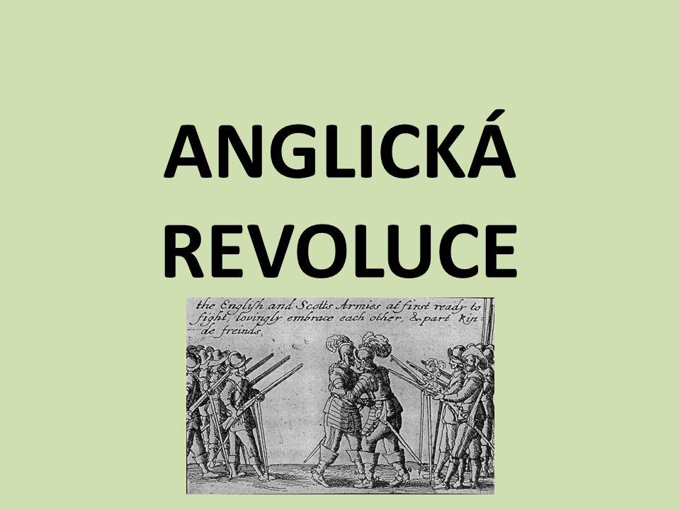 ANGLICKÁ REVOLUCE