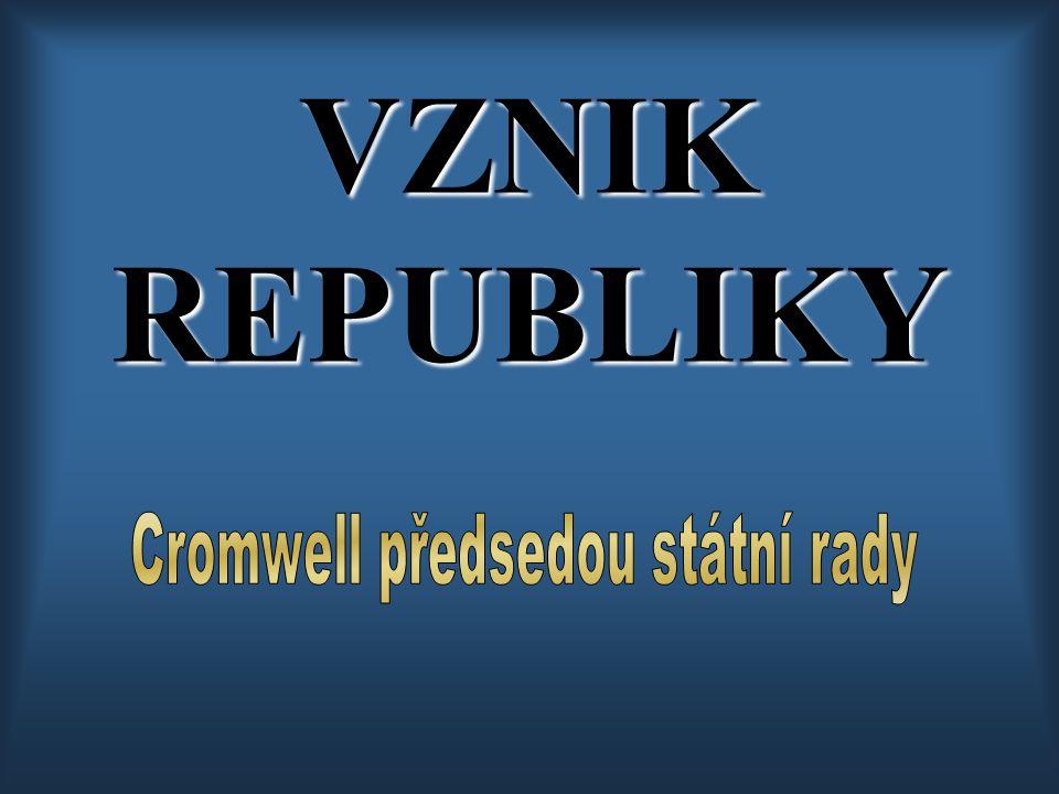 VZNIK REPUBLIKY