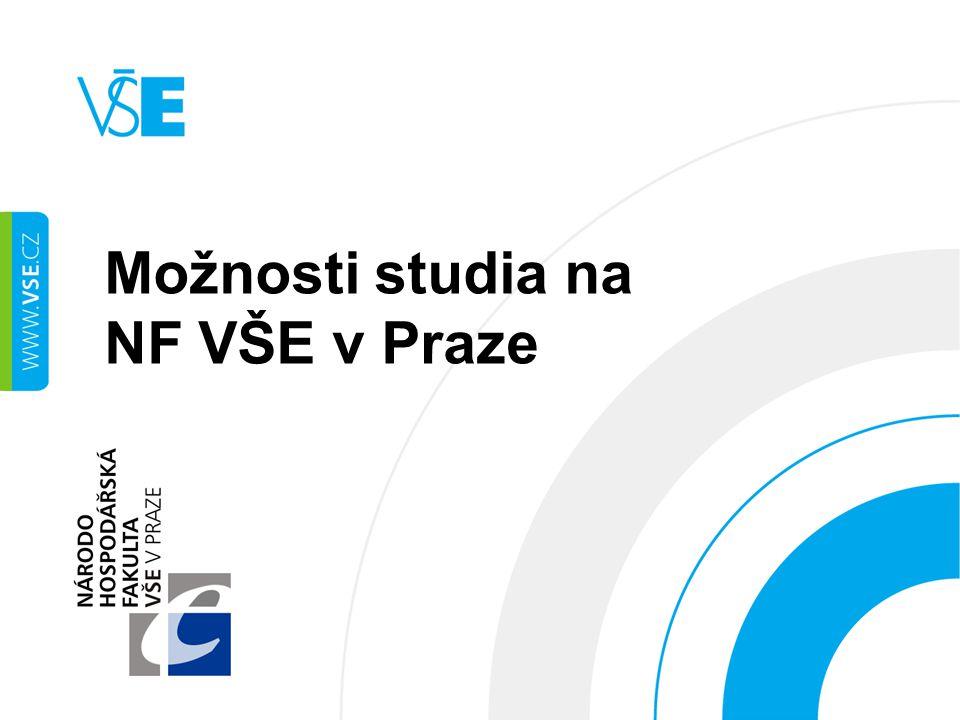 Možnosti studia na NF VŠE v Praze