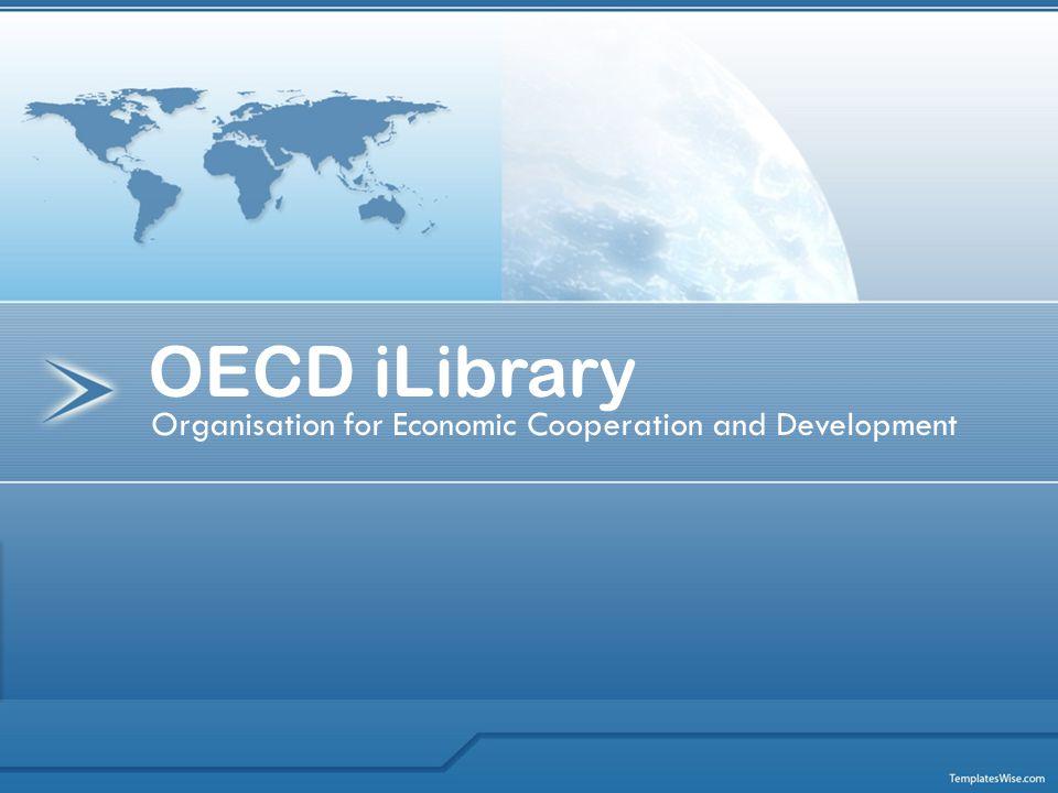 Co je OECD iLibrary.
