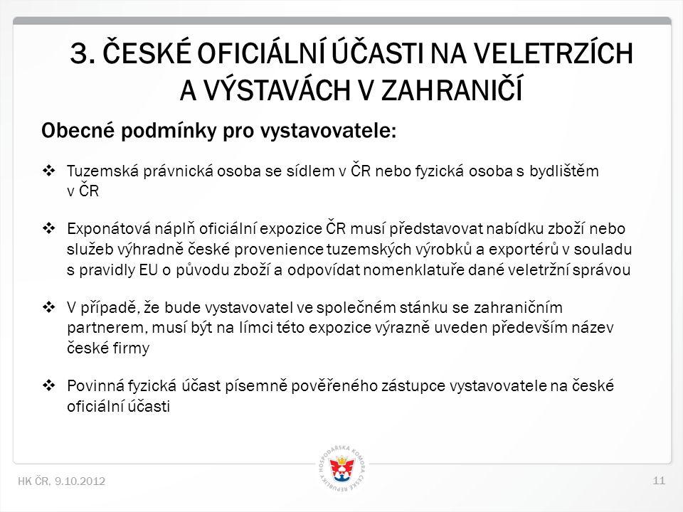11 HK ČR, 9.10.2012 3.