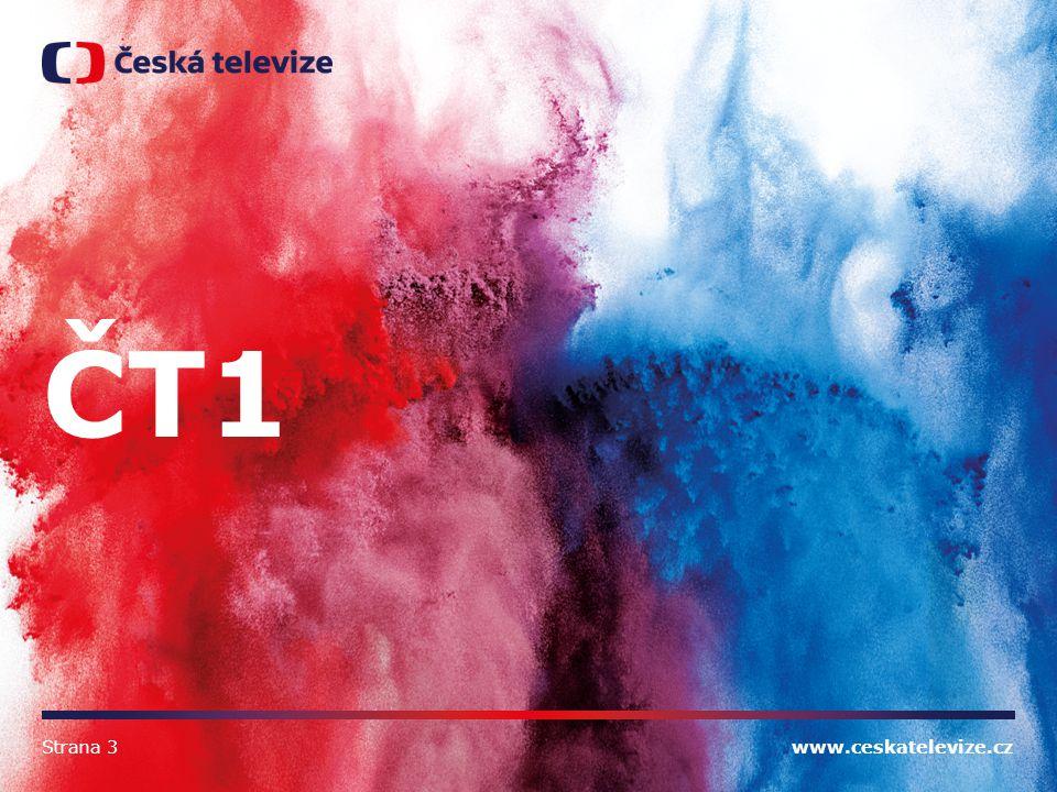 www.ceskatelevize.cz ČT1 Strana 3