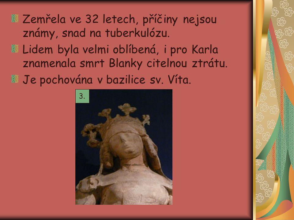 Karel IV.nemá následovníka, proto se žení r. 1349 s Annou Falckou.