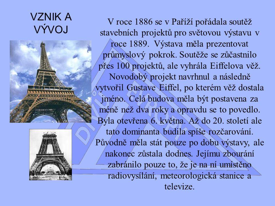II.Div Evropy Eiffelova vez Odvážné stavební dílo 19.