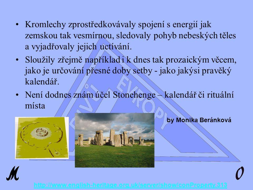 III.Div Evropy Stonehenge Byl postaven mezi roky 1900-1650 př.