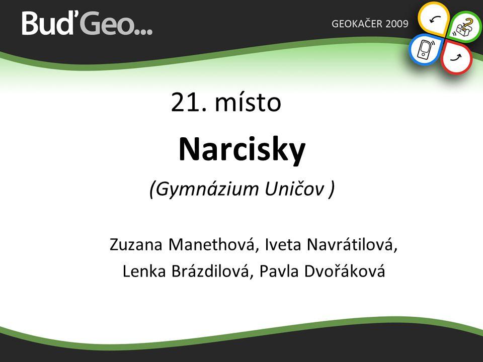20. místo Metaloví knedlíci (Gymnázium Uničov ) Tomáš Fordey, Ondřej Kropáč