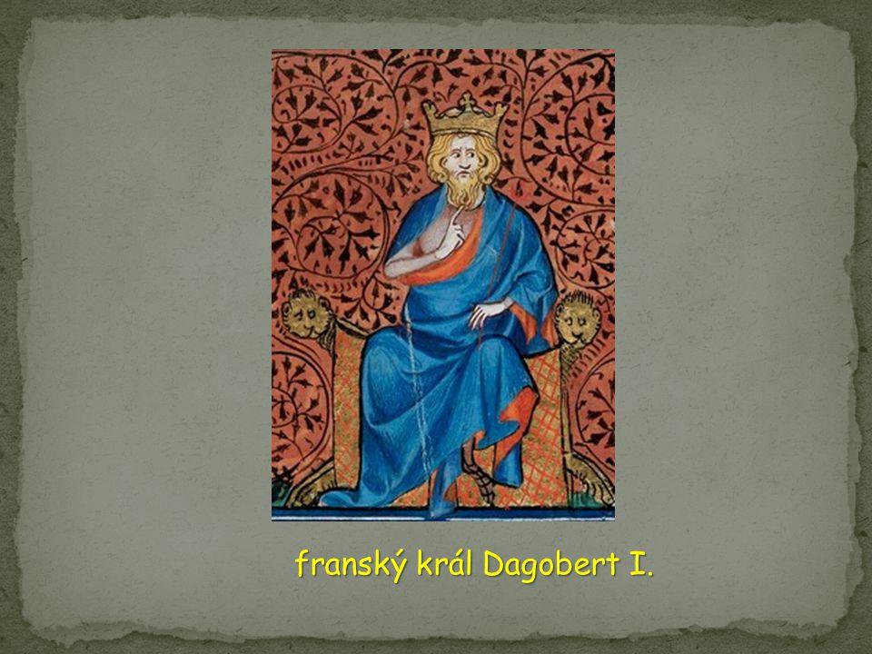 franský král Dagobert I.