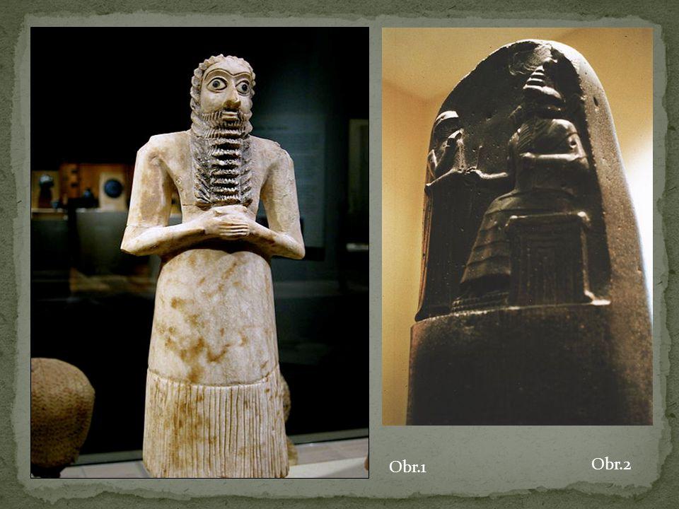 Skoro se nedochovalo Stěny paláců zdobilo nástěnné malířství Vynález plastických a polévaných cihel Babylón (reliéfy zvířat, lvi, draci) Mozaiky z barevných kaménků VYSVĚTLETE, CO JE MOZAIKA