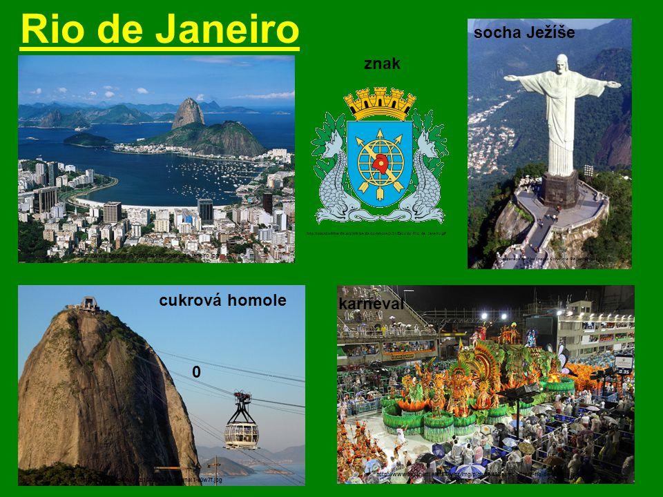 Sao Paulo http://cs.wikipedia.org/wiki/Soubor:Brasao_SaoPaulo_SaoPaulo_Brasil.svg - největší a nejbohatší brazilské město http://upload.wikimedia.org/wikipedia/commons/7/7e/Catedral_Metropolitana_de_Sao_Paulo_1_Brasil.jpg katedrála znak Avenida Paulista http://www.tonyvella.it/www/foto/Sao%20Paulo%20Avenida%20Paulista.jpg http://upload.wikimedia.org/wikipedia/commons/thumb/7/7a/Faculdade_de_Direito_da_USP.jpg/350px-Faculdade_de_Direito_da_USP.jpg Faculdade de Direito