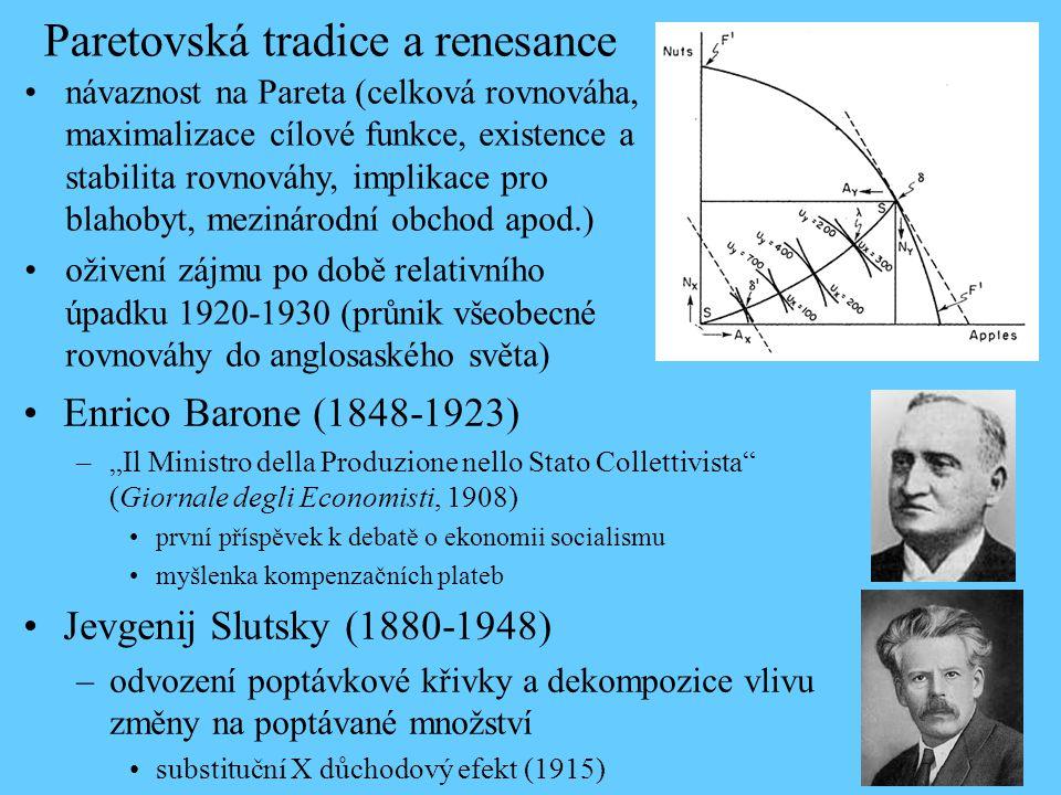 """Enrico Barone (1848-1923) –""""Il Ministro della Produzione nello Stato Collettivista"""" (Giornale degli Economisti, 1908) první příspěvek k debatě o ekono"""