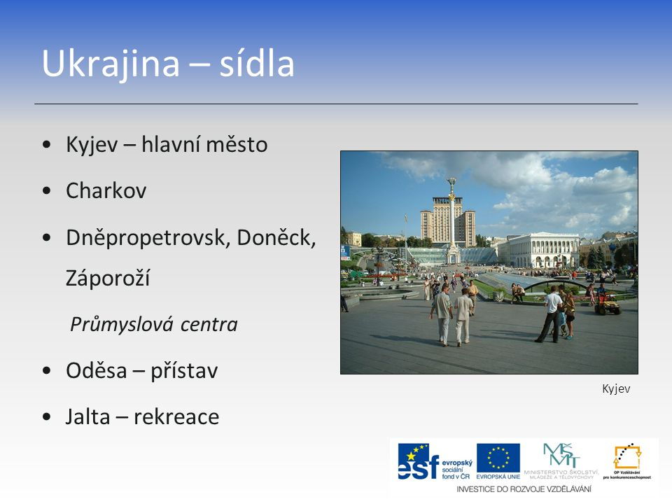 Moldavsko – základní charakteristika Moldavská republika Hl.