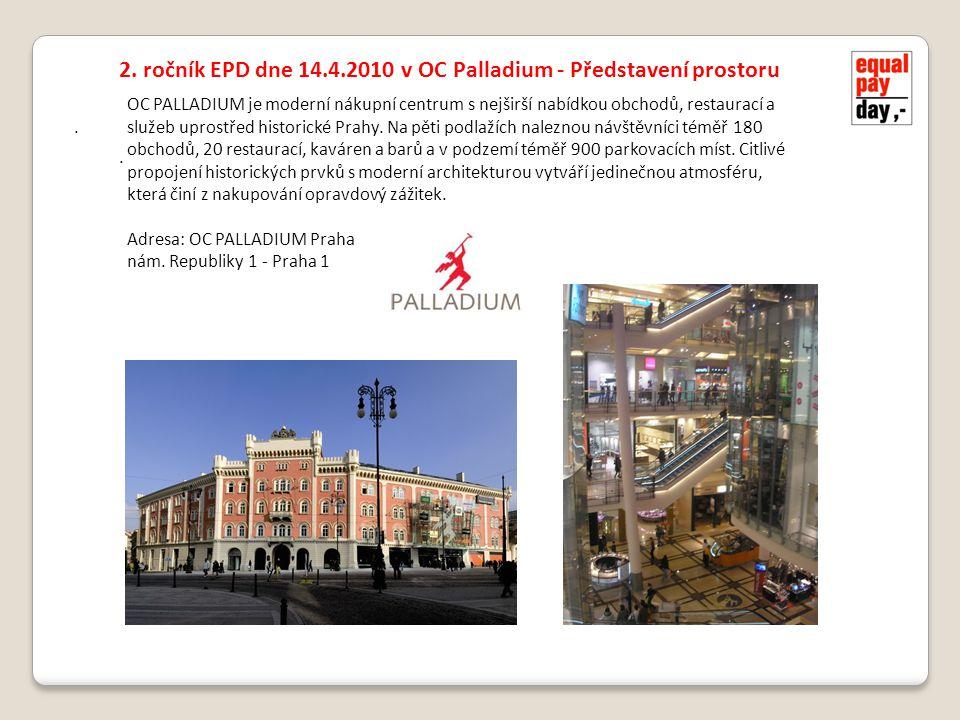 .. OC PALLADIUM je moderní nákupní centrum s nejširší nabídkou obchodů, restaurací a služeb uprostřed historické Prahy. Na pěti podlažích naleznou náv