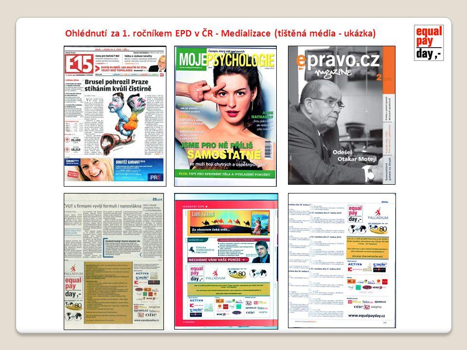 Ohlédnutí za 1. ročníkem EPD v ČR - Medializace (tištěná média - ukázka)