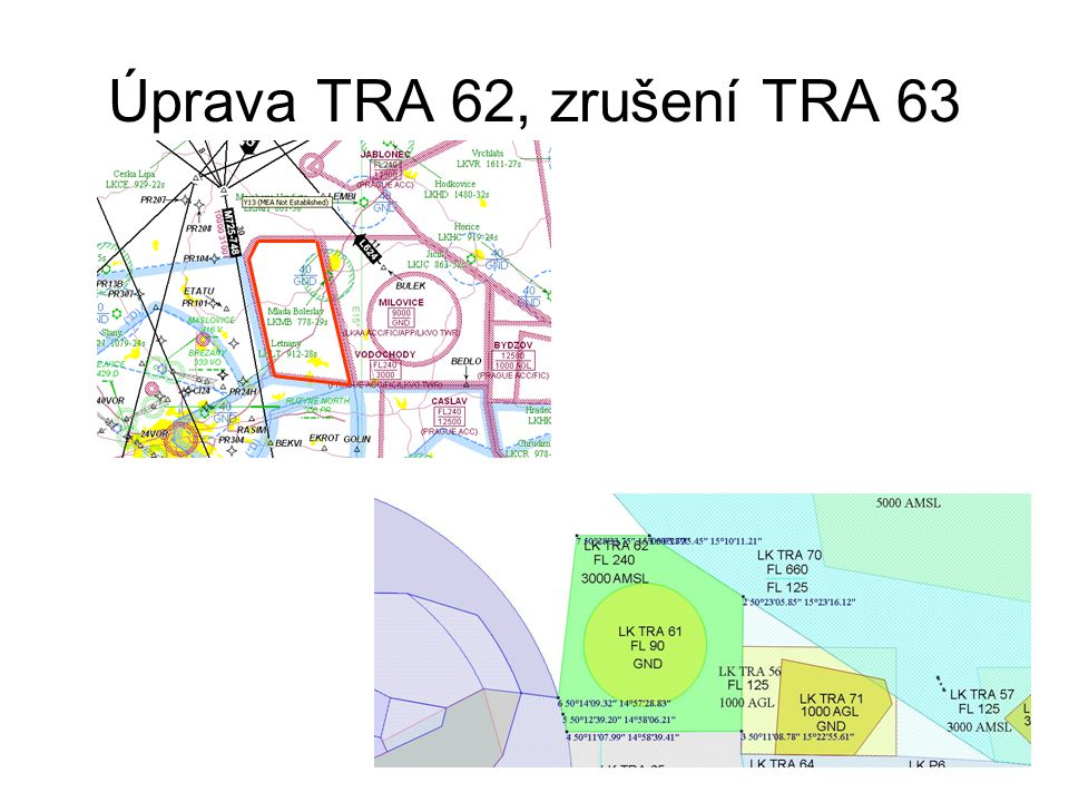 Úprava TRA 62, zrušení TRA 63