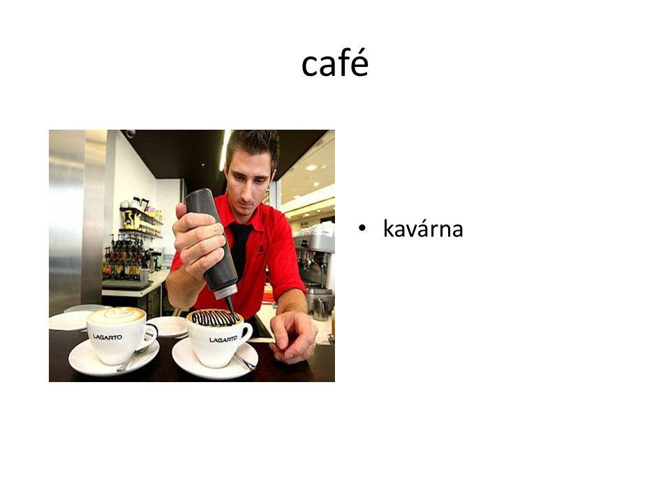 café kavárna