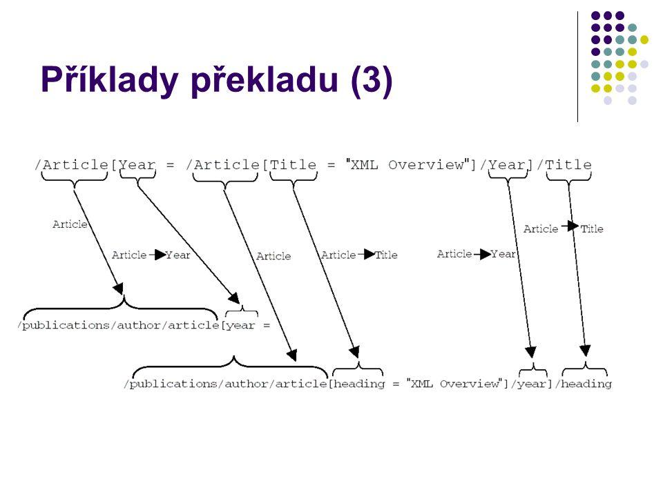 Příklady překladu (3)
