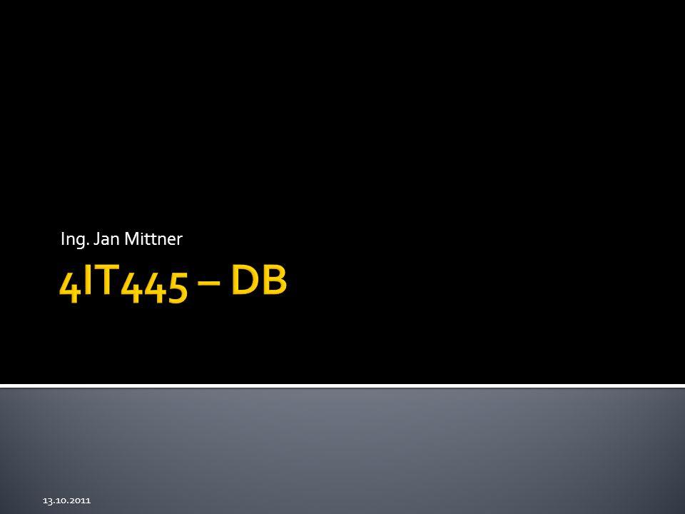 1. MySQL Workbench 2. Základy práce s databází 3. Subversion 2