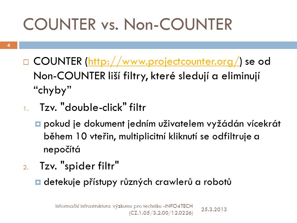 COUNTER vs.