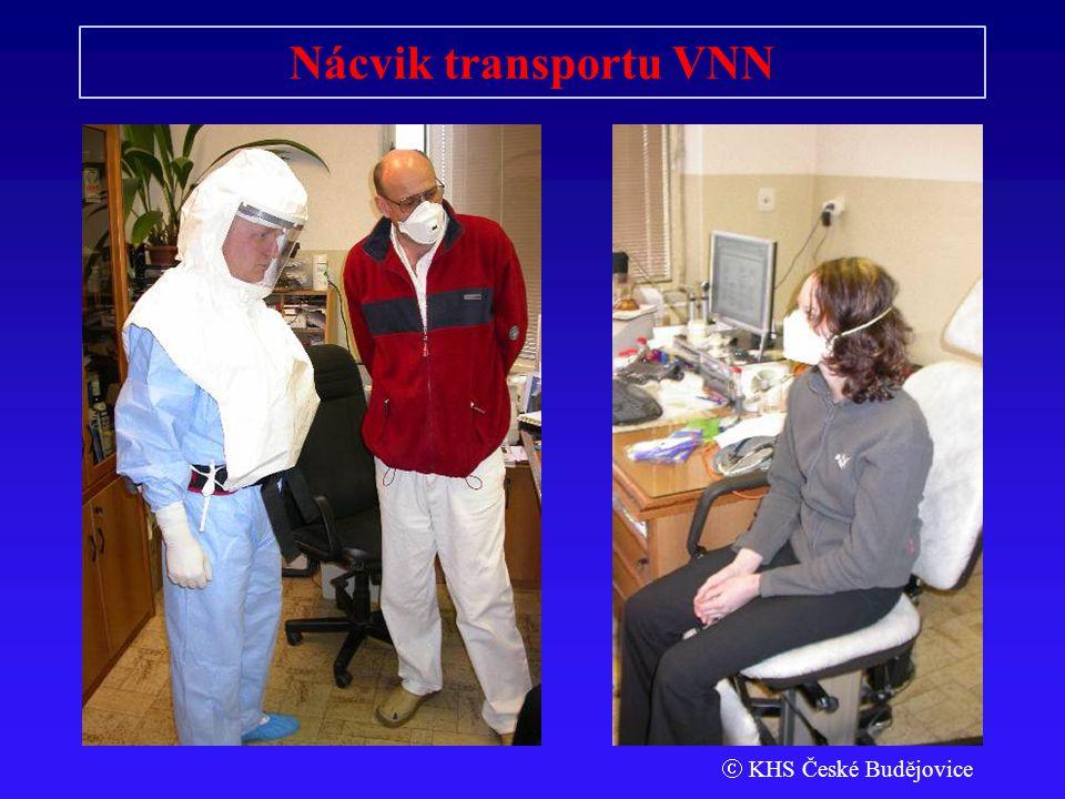 Nácvik transportu VNN  KHS České Budějovice