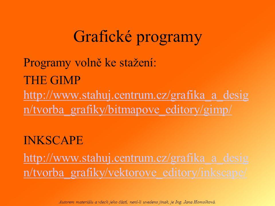 Program pro úpravu fotografií http://pixlr.com http://pixlr.com Autorem materiálu a všech jeho částí, není-li uvedeno jinak, je Ing.