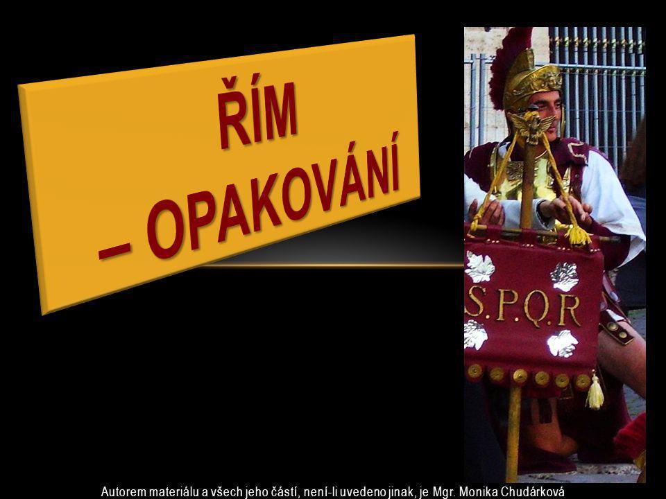 Který kmen jako první vládl na území Říma.