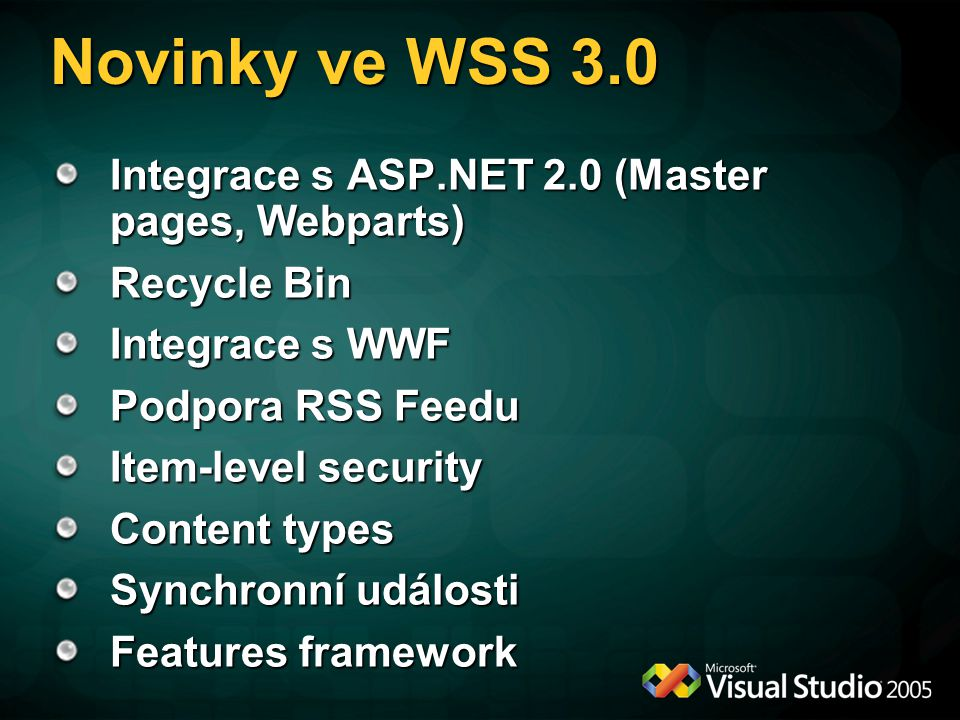 MOSS 2007 WSS 3.0 Windows Server