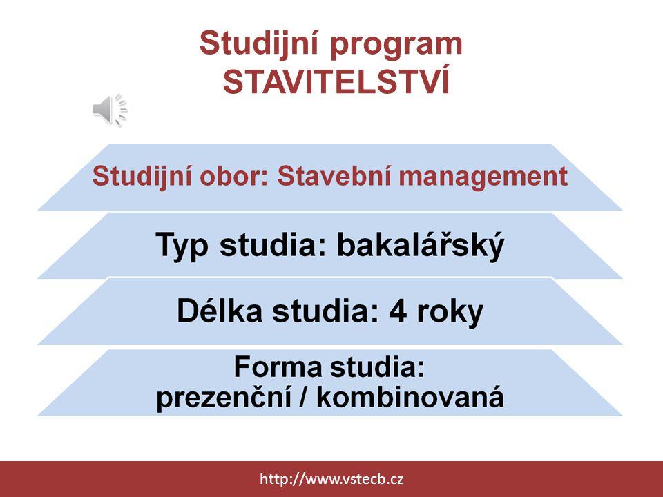 Studijní program EKONOMIKA A MANAGEMENT http://www.vstecb.cz