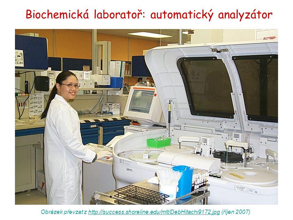 Obrázek převzat z http://success.shoreline.edu/mlt/DebHitachi9172.jpg (říjen 2007)http://success.shoreline.edu/mlt/DebHitachi9172.jpg Biochemická labo