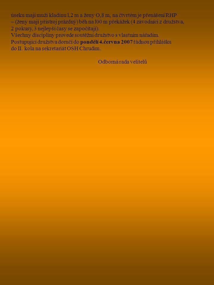 Sdružení hasičů Čech, Moravy a Slezska, Římská 45, 121 07 Praha 2 U S N E S E N Í shromáždění starostů OSH, konaného dne 28.