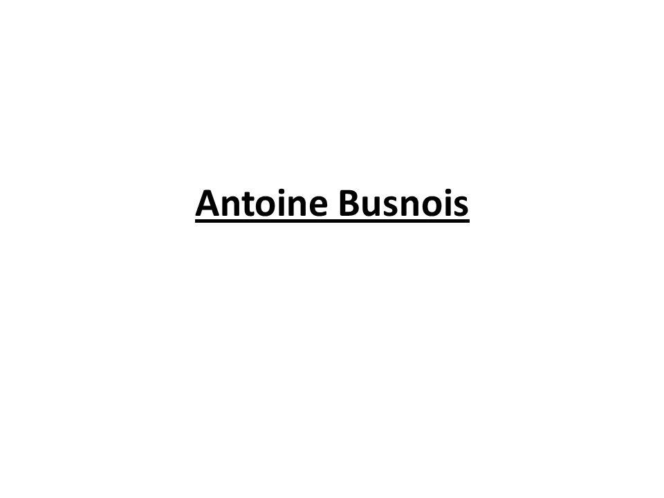 Antoine Busnois
