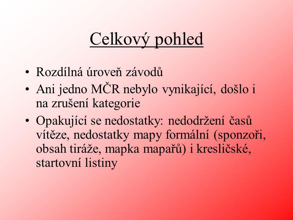Následují komentáře k: Mistrovství ČR KT (TZL), KL (PHK), ŠT a KLB (ZBM) Závody ČP a ŽA (KT a KL) 2x LPU, 2x BOR