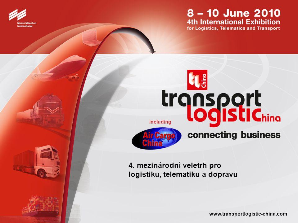 transport logistic China 2010 connecting business Příští konání: 8.