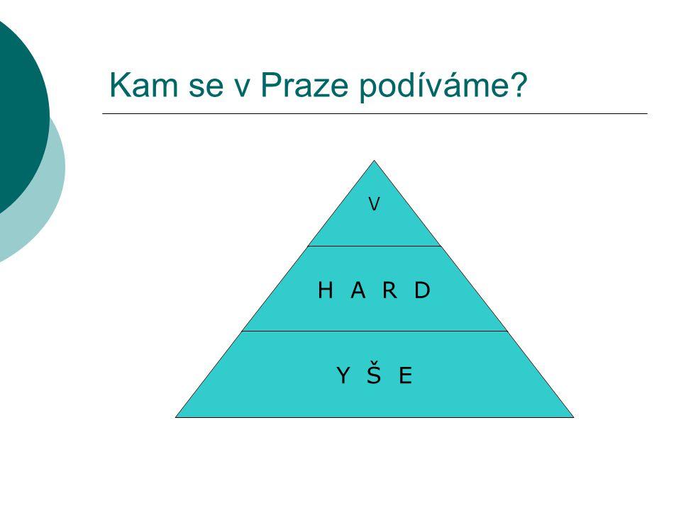 Kam se v Praze podíváme V H A R D Y Š E
